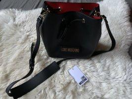 Love Moschino Crossbody bag black-red