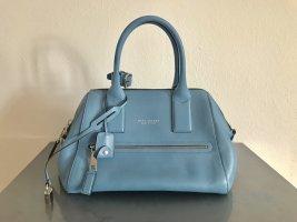 Marc Jacobs Bolso barrel azul celeste-color plata Cuero