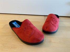 Scuffs black-red