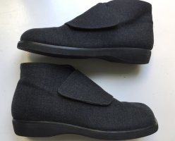 *neu* PETRA DIELER Stiefeletten Boots grau Leder Stoff 41 Arche