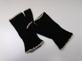 Pianura Studio Fingerless Gloves multicolored wool