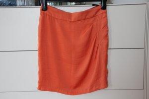 St-martins Minifalda naranja Poliéster