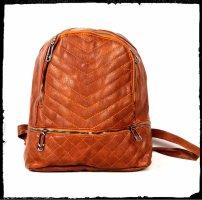Backpack Trolley brown-cognac-coloured