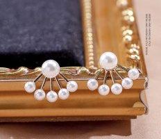 Lily Orecchino di perle oro