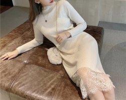 Lily Sweater Dress cream