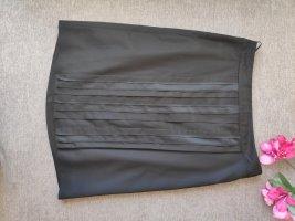 Hugo Boss Silk Skirt black-dark blue