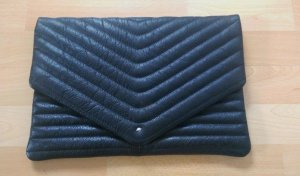 Selected Clutch black leather