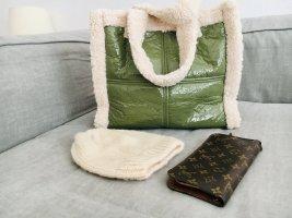 Neu, selten- und original verpackt: Teddy Tasche, Handtasche, Stand Studio, Faux fur bag, Shopper, Tote.