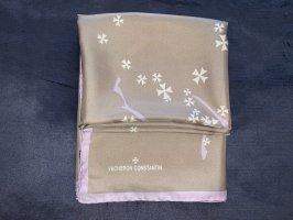 *NEU* selten! VACHERON CONSTANTIN 100% Seide Schal / Tuch. Einzelstücke Limited Edition SAMMLERSTÜCK 90x90 cm