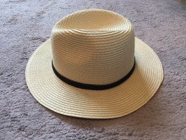 Straw Hat cream-black