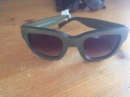 Liebeskind Angular Shaped Sunglasses khaki-dark green