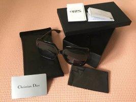 Dior Angular Shaped Sunglasses black acetate