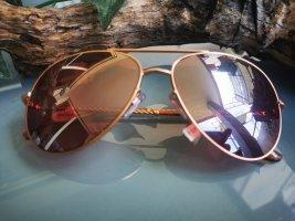 NEU, Sonnenbrille, Gold & Rosa