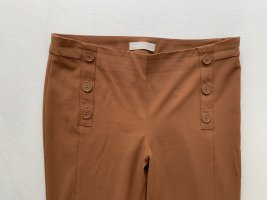 *NEU*STEFANEL Braune Skinny Hose mit Knopfleiste vorne