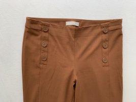 Stefanel Pantalón de tubo marrón