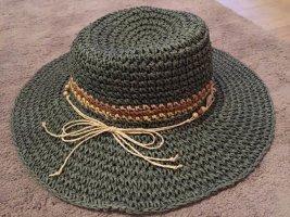 chic chic Cappello di paglia multicolore