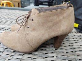 Neu Tamaris Stiefel Stiefelette beige Gr.38