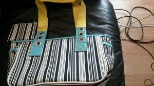 NEU! Tchibo TCM Handtasche mit Geldbörse, maritim, Vintage