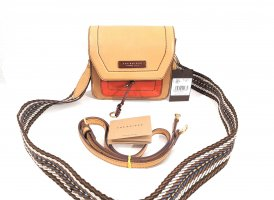 NEU The Bridge Elba Echtleder Luxus Handtasche Crossbody