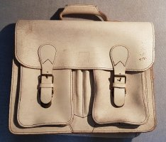 Briefcase natural white