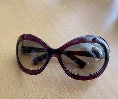 Tom Ford Gafas mariposa violeta amarronado