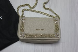 NEU Twin Set Tasche Handtasche Perlen Chain Ketten Design