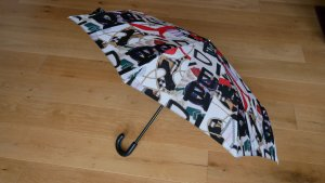 Burberry Folding Umbrella multicolored