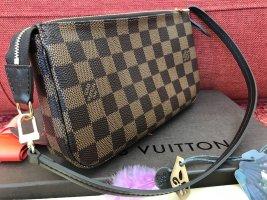 Louis Vuitton Pochette brown mixture fibre
