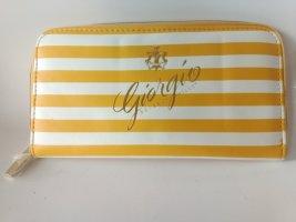 Giorgio Beverly Hills Portafogli bianco-giallo