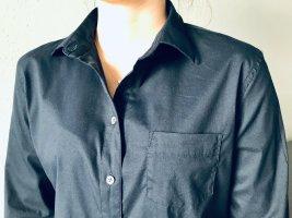 Lands' End Camicetta a maniche lunghe nero Cotone