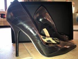 NEU - ungetragen: Dolche Gabbana Pumps schwarz Aalleder