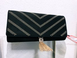 Neu Valentino by Mario Valentino schwarz gold Clutch Tasche Bag Handtasche Crossbody Umhängetasche 99,99€