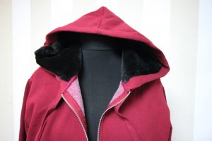 Victoria's Secret Sweat Jacket black-bordeaux