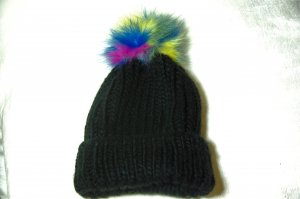 Codello Knitted Hat black polyacrylic
