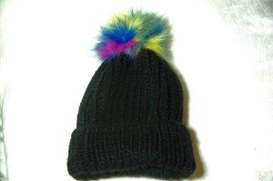Codello Cappello a maglia nero Acrilico