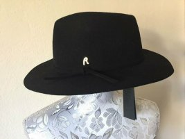 Replay Woolen Hat black-gold-colored wool