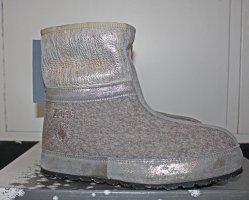 Botas de nieve gris claro-color oro Lana