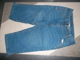 Cecilia Classics 3/4 Length Trousers blue cotton