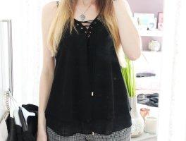• Neue, ärmellose Bluse mit Schnürung von New Look