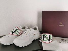 Neue Aigner Leder Sneaker Gr. 38