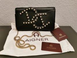 Neue Aigner Leder Tasche mit Etikett NP 449€