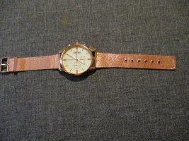 neue armbanduhr,brozefarben,glänzend,verstellbar