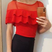 Blusa tipo body rojo