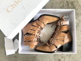 NEUE Chloé Rylee Ankle Boots / Cowboy Stiefeletten Gr 37