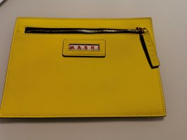 Marni Clutch yellow-neon yellow