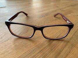 Bril donkerblauw-donkerrood