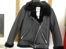 Zara Flight Jacket black