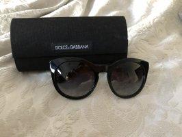 Dolce & Gabbana Occhiale da sole rotondo nero