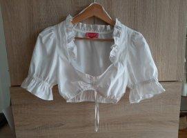 Krüger Dirndl Blusa tradizionale bianco