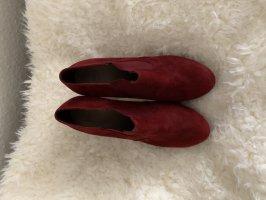 Esprit Slip-on laarzen bordeaux-karmijn